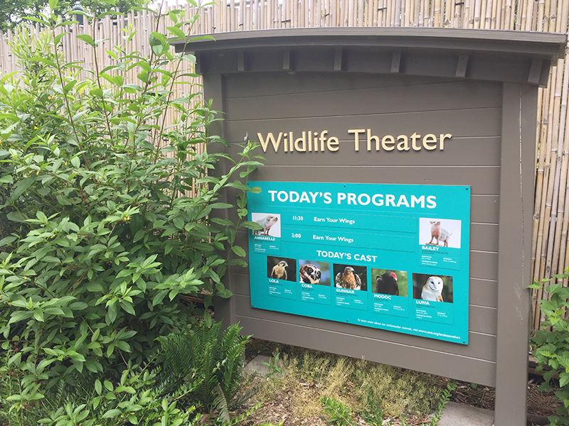 Woodland Park Zoo Wildlife Theater