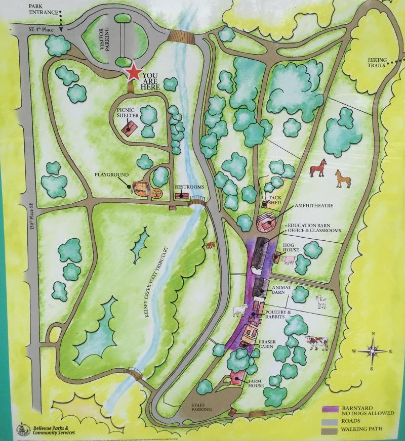 kelsey creek farm map
